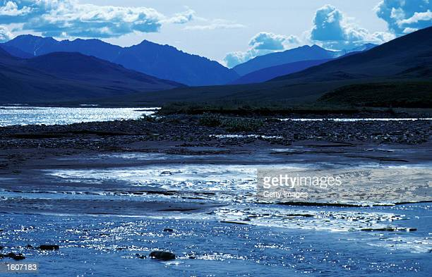 This undated photo shows the Arctic National Wildlife Refuge in Alaska The Bush administration''s controversial plan to open the refuge to oil...