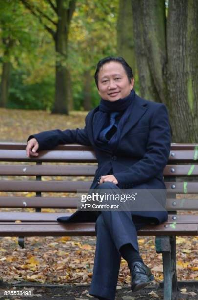 This undated picture received on August 2 2017 shows Vietnamese national Trinh Xuan Thanh sitting on a park bench in Berlin Germany accused Hanoi on...