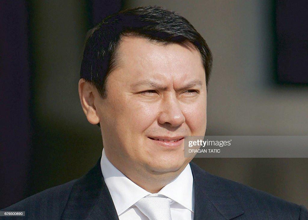 AUSTRIA-KAZAKHSTAN-CRIME-PEOPLE : Nachrichtenfoto