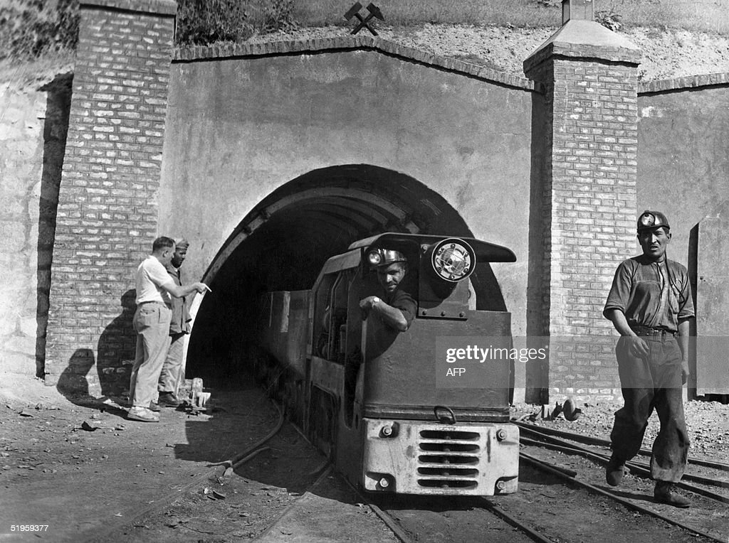 This undated picture shows the entrance to the Kar : News Photo