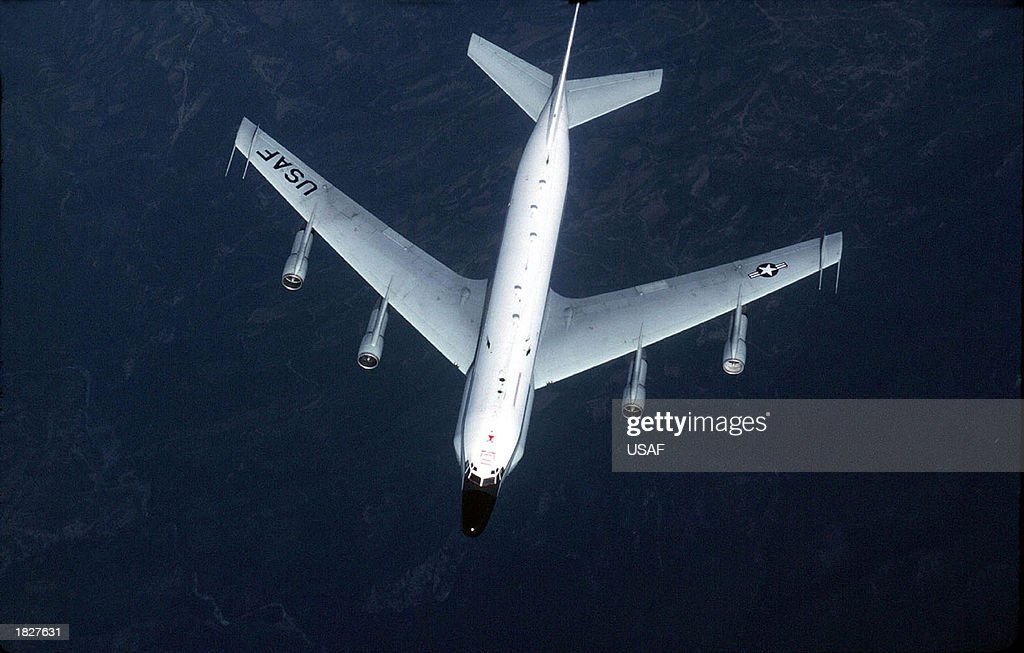 Media Reports Say U.S. Reconnaissance Plane Intercepted By North Korean Fighters : News Photo