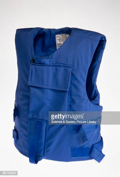 This vest is made from more than one material It contains aramid fibres such as Kevlar or Twaron to stop bullets and steel mesh to stop knives As...