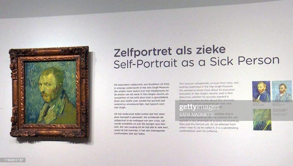 NETHERLANDS-ART-PAINTING : News Photo