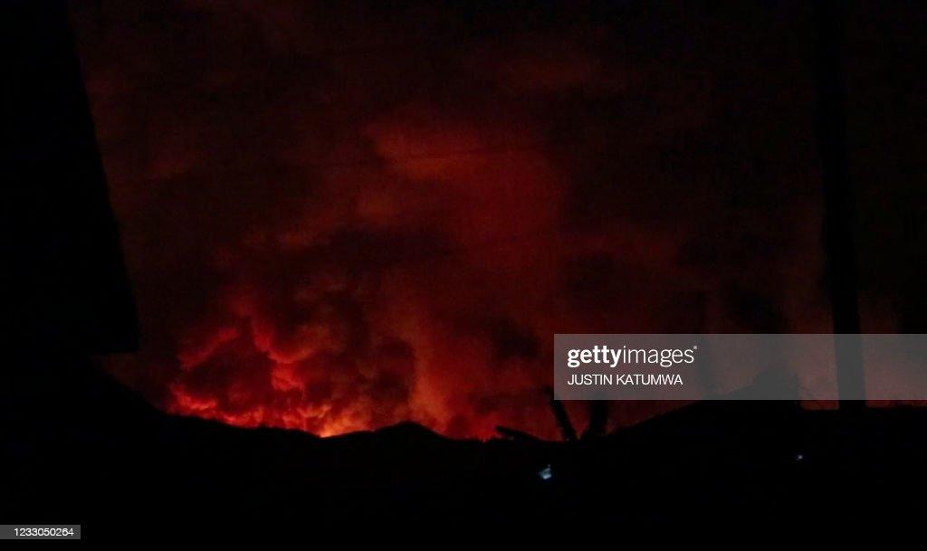 RDCONGO-VOLCANO : News Photo