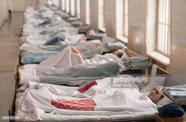 This ward of a psychiatric hospital is the home to some of the most severely mentallyill patients | Location near Moscow Russia