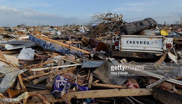 This was one of the worst hit areas from the tornado that swept through Moore Oklahoma on 5-20-13.