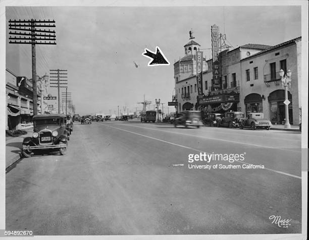 This was out in the c[ ] a few years ago [ ] intersection of Whittier and Atlantic [ ] Side developments at [ ]ied nearby Los Angeles California May...