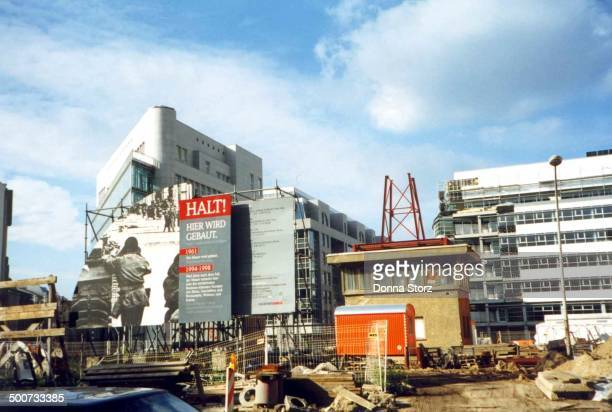 CONTENT] This was reportedly the East German partner to the Allied's Checkpoint Charlie It was demolished just a bit over 25 years after this photo...