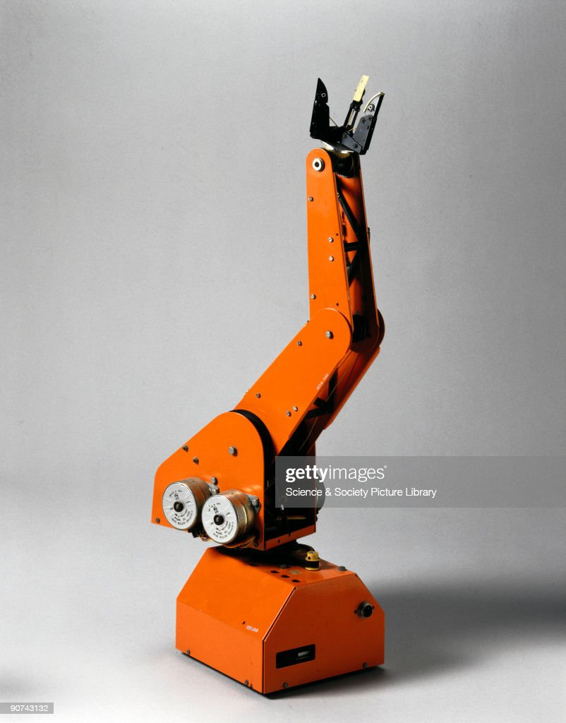 This was the first British home construction robot arm and was designed for the needs of industrial, educational and home users wanting a small programmable robot arm. It was introduced at the height of the interest in home computers of that type and could be programmed by the home enthusiast prepared to programme up to 700 lines of machine code. The continuous path characteristic enabled any or all of the stepped motors to operate at the same time, making possible very complex movements. The claw or grabber was a patented design. The machine was publicised and promoted by 'Electronics Today' magazine of September 1981 who state that 'the kit of parts is like a Meccano set with all the drilling and cutting done; just slot it together with instructions from the manual'.