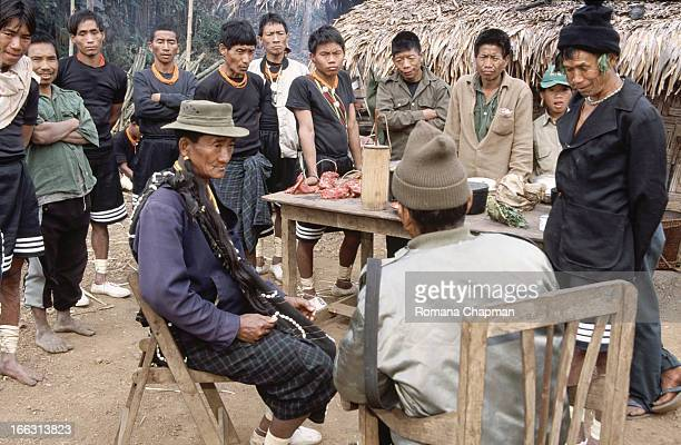 This was the first time the myanmar / burmese military government took foreigners up to nagaland - but it was a very carefully selected group only....