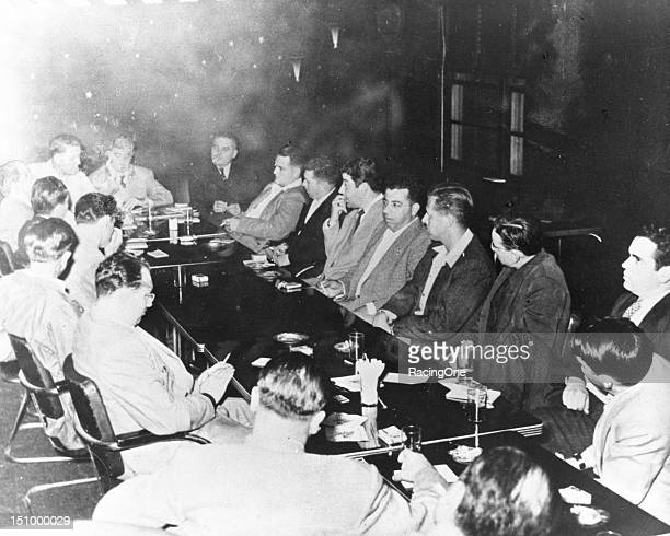 "This was the scene in what was called the ""smoke filled room"" as 35 men met to form what would ultimately become the National Association for Stock..."