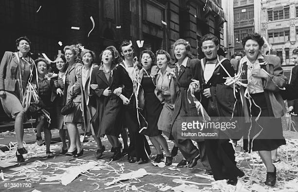 This Was VE Day In London