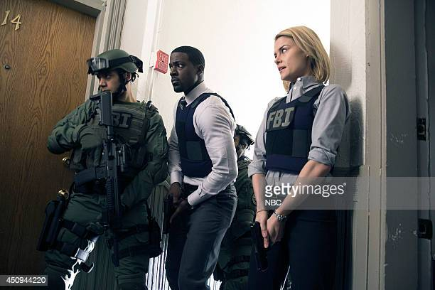 CRISIS This Wasn't Supposed To Happen Episode 111 Pictured Lance Gross as Marcus Finley Rachael Taylor as Agent Susie Dunn
