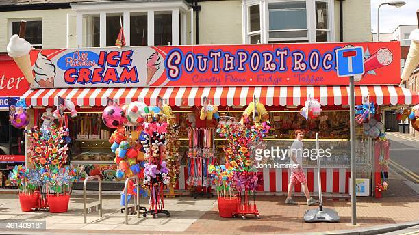 This well known shop provides sweet treats to visitors to the seaside.