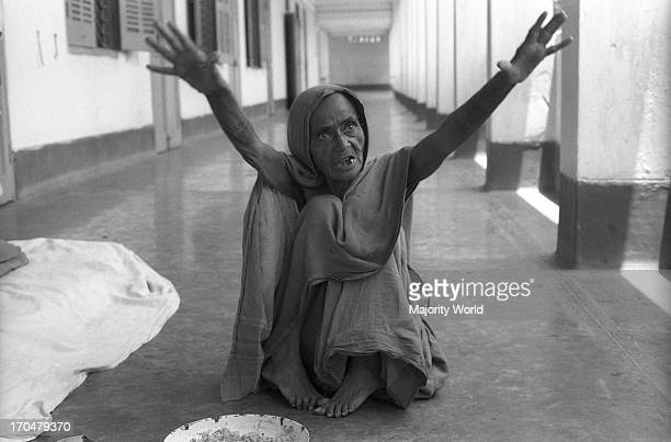 This woman from Madras India has been in the hospital for the 38 years of its existence Mental Hospital Pabna Bangladesh 1994 The Mental Hospital...