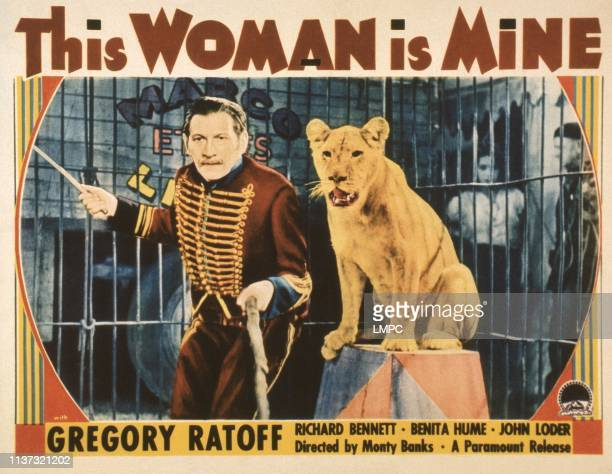 This Woman Is Mine US lobbycard Gregory Ratoff 1935