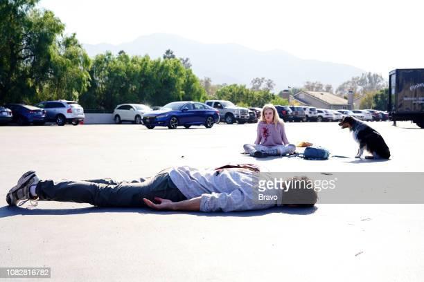 JOHN This Young Woman Fought Like Hell Episode 108 Pictured Eric Bana as John Meehan Julia Garner as Terra Newell