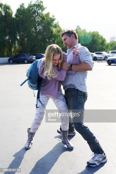 JOHN This Young Woman Fought Like Hell Episode 108 Pictured Julia Garner as Terra Newell Eric Bana as John Meehan