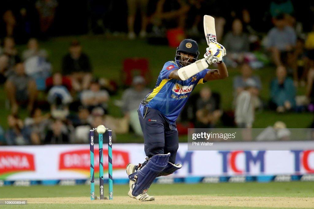 New Zealand v Sri Lanka - ODI Game 2 : News Photo