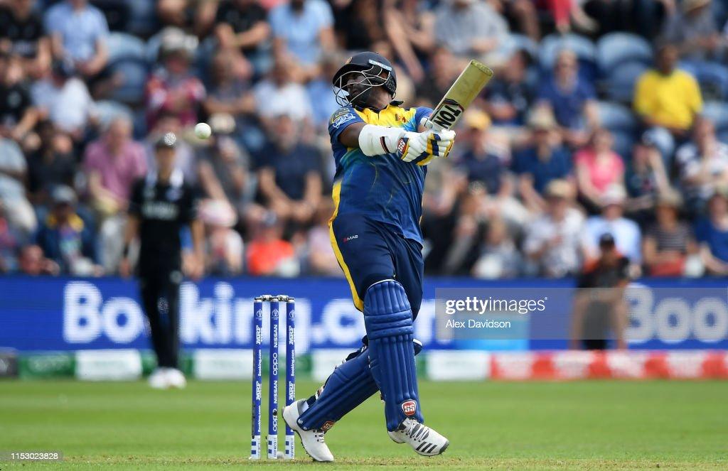 New Zealand v Sri Lanka - ICC Cricket World Cup 2019 : News Photo