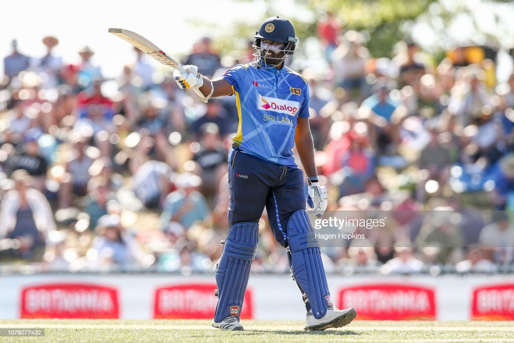 New Zealand v Sri Lanka - ODI Game 3 : News Photo