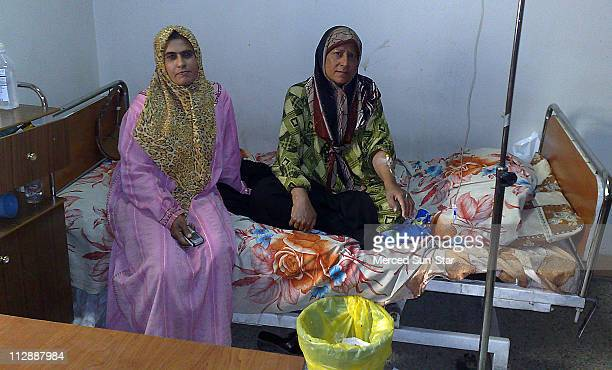Thiwia Nasir right has breast and ovarian cancer She said she had to bring her own chemotherapy drugs with her to the Hospital of Radiotherapy and...