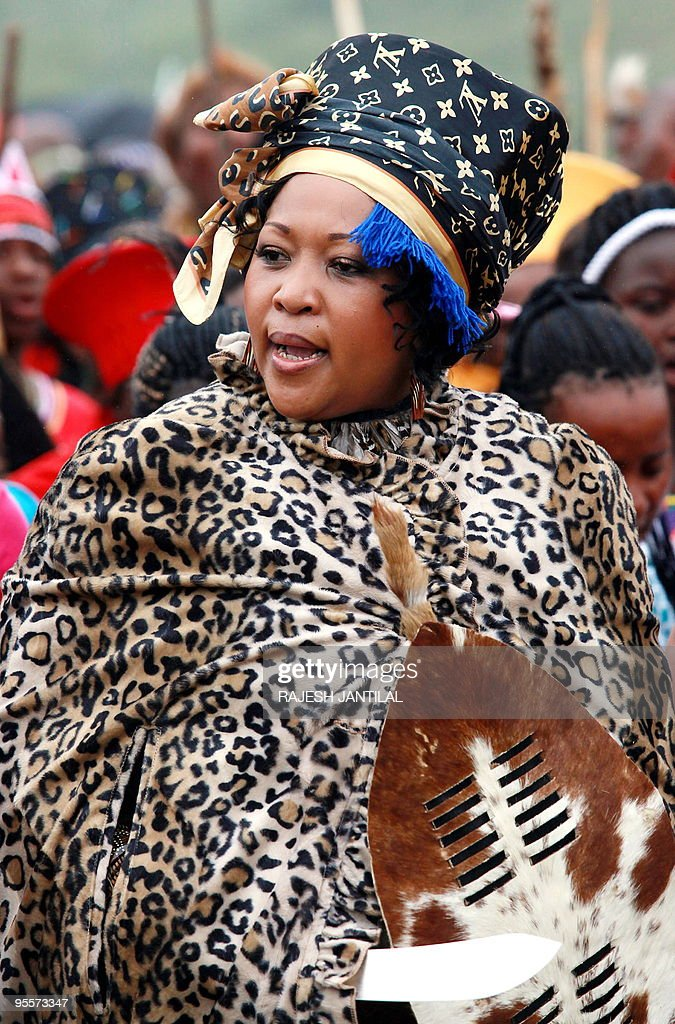 Thobeka Madiba Arrives For Her Wedding Ceremony With South African President Jacob Zuma Not
