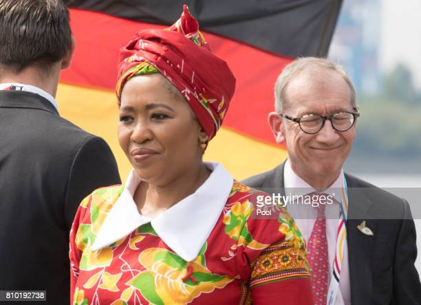 Thobeka MadibaZuma wife of Jacob Zuma President of the Republic of South Africa and Philip May husband of Theresa May Prime Minister of the United...