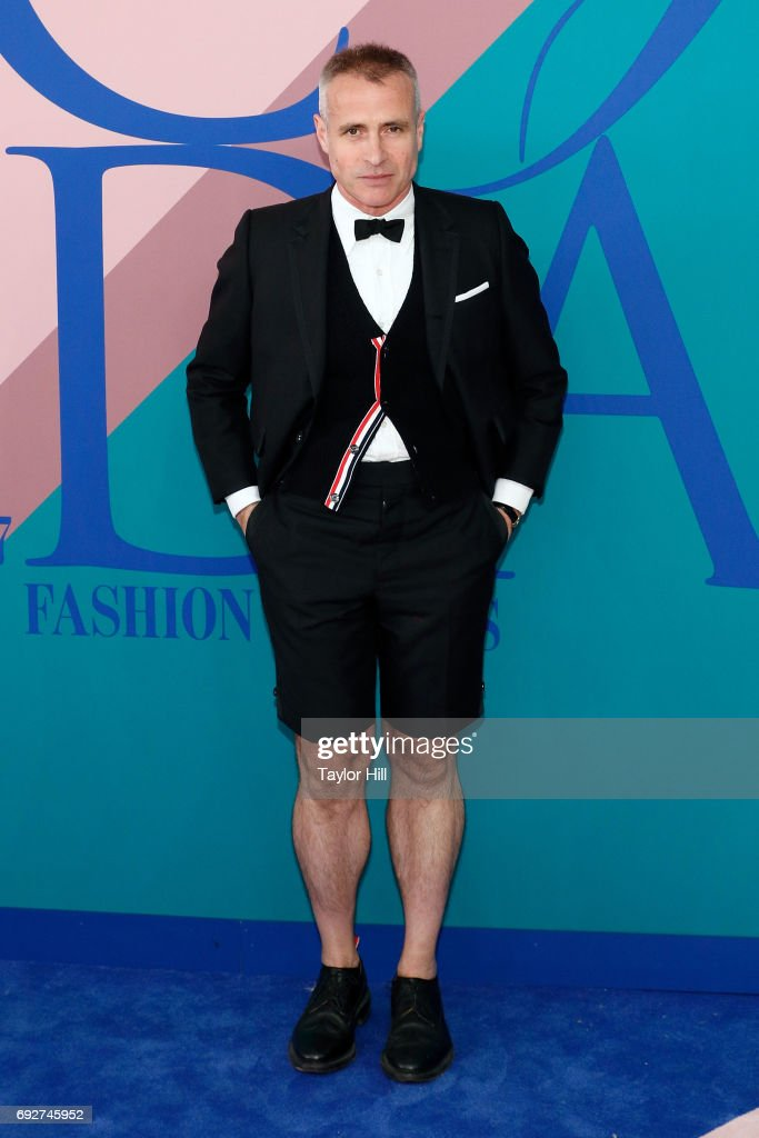 Thom Browne attends the 2017 CFDA Fashion Awards at Hammerstein Ballroom on June 5, 2017 in New York City.