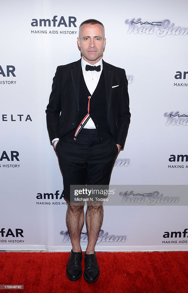 Thom Browne attends the 4th Annual amfAR Inspiration Gala New York at The Plaza Hotel on June 13, 2013 in New York City.