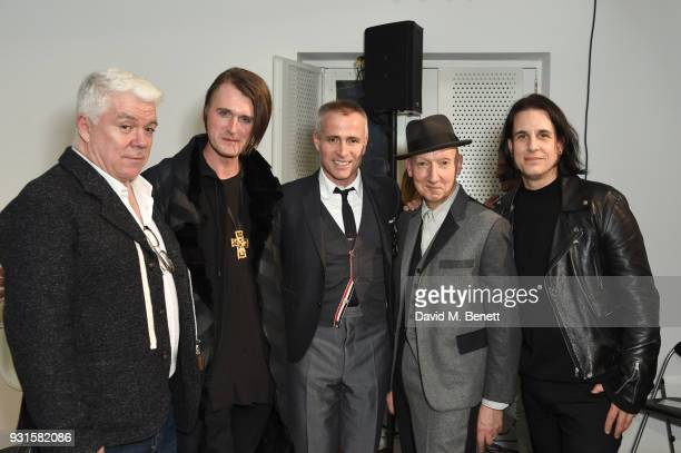 Thom Browne Gareth Pugh Thom Browne Stephen Jones and Tod Lyn attend Thom Browne In Conversation with Sarabande The Lee Alexander McQueen Foundation...