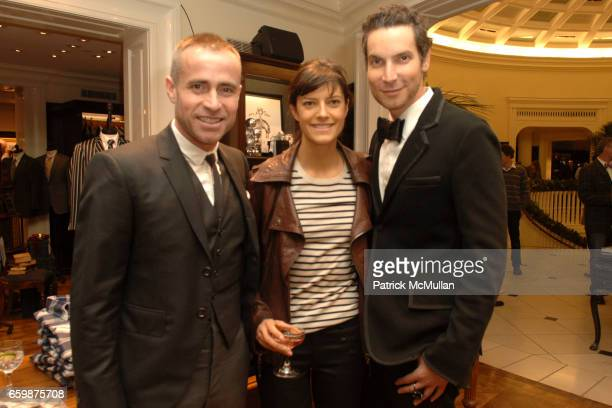 Thom Browne Lauren Howel and Cameron Silver attend Brooks Brothers celebrates the publication of Assouline's 'American Fashion Menwear' by Robert F...