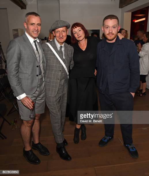 Thom Browne Stephen Jones Trino Verkade and Craig Green attend The Art Of Curating Fashion with Andrew Bolton presented by Sarabande The Lee...