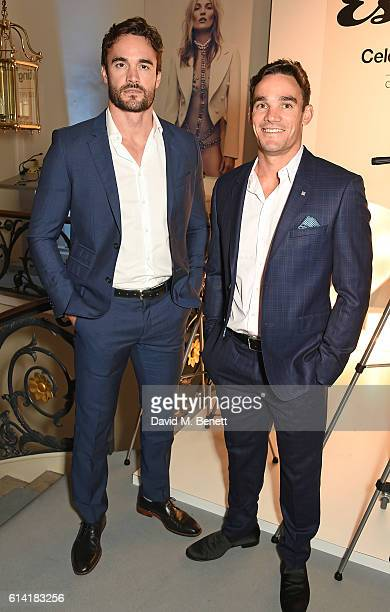 Thom Evans and Max Evans attend the launch of the Esquire Townhouse with Dior on October 12 2016 in London England