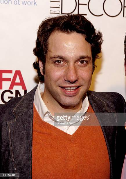 Thom Filicia during The 8th Annual Elle Decor Dining by Design Benefiting the Design Industries Foundation Fighting AIDS at Hammerstein Ballroom in...