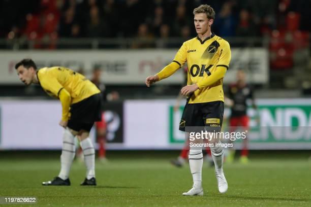 Thom Haye of NAC Breda, Robin Schouten of NAC Breda during the Dutch Keuken Kampioen Divisie match between Excelsior v NAC Breda at the Van Donge &...