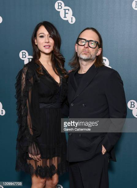 Thom Yorke and Dajana Roncione attend the BFI Fellowship 2020 at Rosewood London on March 02, 2020 in London, England.