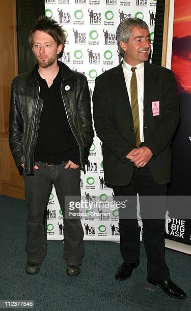 Thom Yorke and Tony Jupiter Friends of the Earth Director
