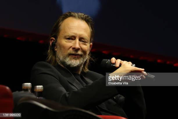 Thom Yorke attends the Close Encounter with Thom Yorke during the 15th Rome Film Festival on October 24, 2020 in Rome, Italy.
