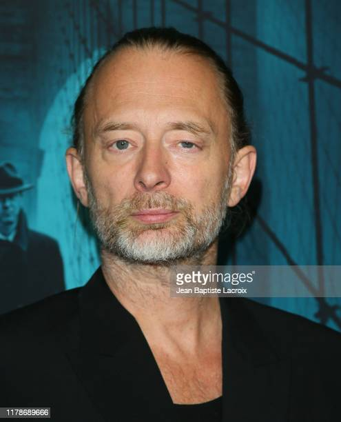 """Thom Yorke attends the Premiere of Warner Bros. Pictures' """"Motherless Brooklyn"""" at Hollywood Post 43 on October 28, 2019 in Los Angeles, California."""