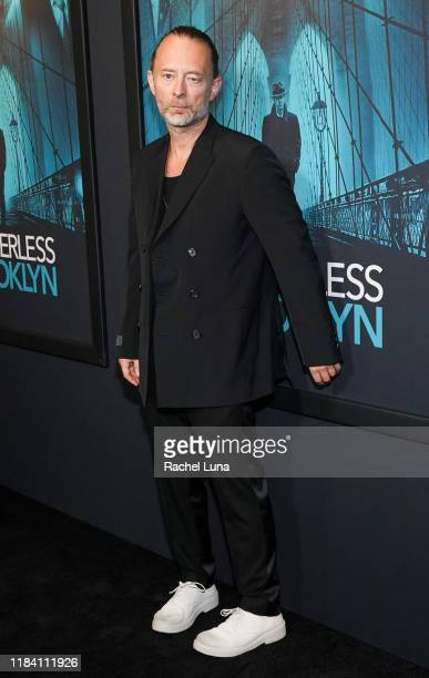"""Thom Yorke attends the premiere of Warner Bros Pictures' """"Motherless Brooklyn"""" on October 28, 2019 in Los Angeles, California."""