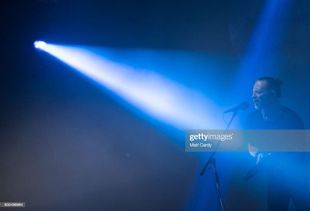 Festival Goers Enjoy Glastonbury 2017 : News Photo