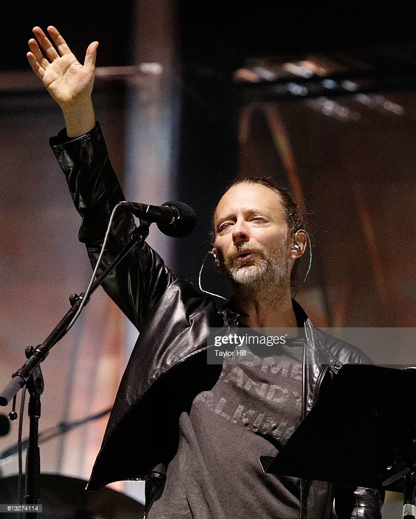 Thom Yorke of Radiohead performs during the 2016 Austin City Limits Music Festival second weekend at Zilker Park on October 7, 2016 in Austin, Texas.