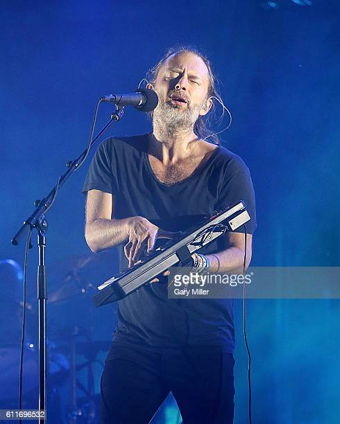 Thom Yorke of Radiohead performs in concert during the Austin City Limits Music Festival at Zilker Park on September 30, 2016 in Austin, Texas.