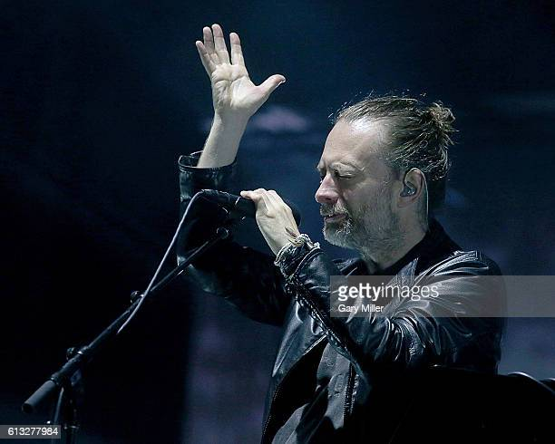 AUSTIN TEXAS AUSTIN TX October 07 Thom Yorke of Radiohead performs in concert during the Austin City Limits Music Festival at Zilker Park on October...