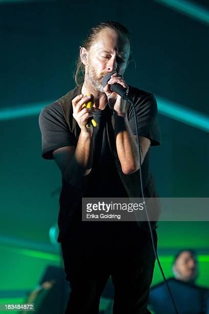 Thom Yorke of the band Atoms For Peace perform on day 3 of Austin City Limits Festival at Zilker Park on October 6 2013 in Austin Texas