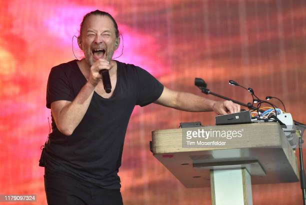 Thom Yorke of Tomorrow's Modern Boxes performs during the ACL Music Festival 2019 at Zilker Park on October 04, 2019 in Austin, Texas.