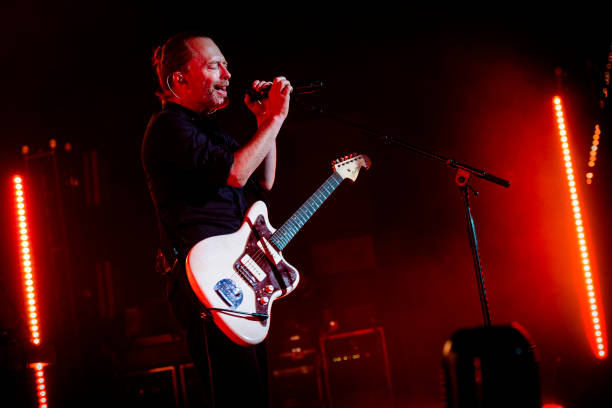 ITA: Thom Yorke Performs In Rome