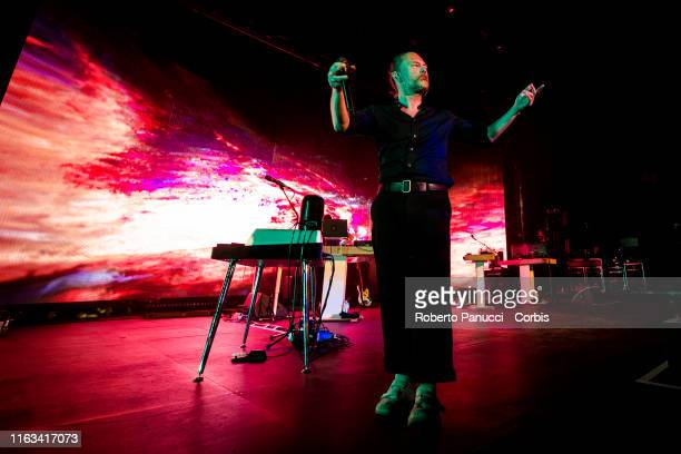 Thom Yorke Performs at Auditorium Parco Della Musica on July 21 2019 in Rome Italy