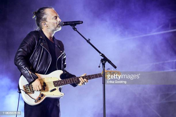 Thom Yorke performs during Austin City Limits Festival at Zilker Park on October 11 2019 in Austin Texas